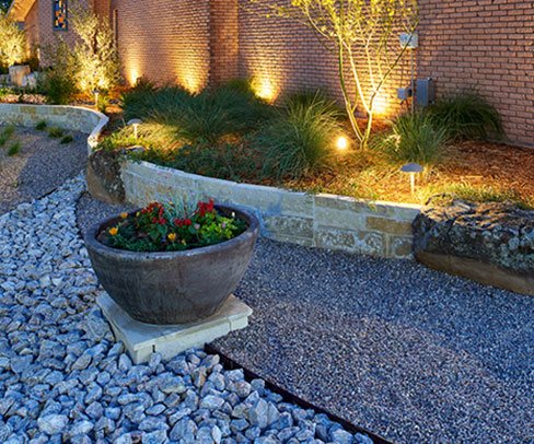 GO Designs El Paso offers professional, licensed and bonded commercial landscape and construction services.