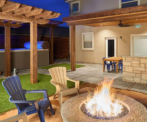 GO Designs El Paso is happy to work with all yard styles and budgetary needs. Everyone deserves a happy backyard.