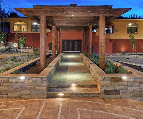 GO Designs El Paso offers custom professional brickwork to fit any design theme you can think of.